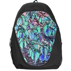 Colored Pencil Tree Leaves Drawing Backpack Bag by LokisStuffnMore