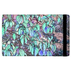 Colored Pencil Tree Leaves Drawing Apple iPad 3/4 Flip Case by LokisStuffnMore