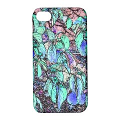 Colored Pencil Tree Leaves Drawing Apple Iphone 4/4s Hardshell Case With Stand by LokisStuffnMore