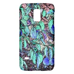 Colored Pencil Tree Leaves Drawing Samsung Galaxy S5 Mini Hardshell Case  by LokisStuffnMore