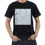 men s t shirt black - Men s T-Shirt (Black)