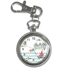 Summer Holiday Key Chain Watch by whitemagnolia