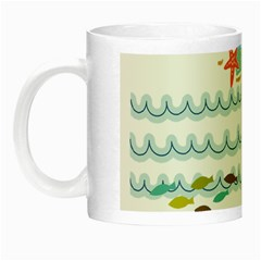 Summer Holiday Glow In The Dark Mug by whitemagnolia