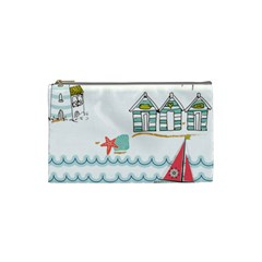 Summer Holiday Cosmetic Bag (small) by whitemagnolia