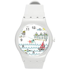 Summer Holiday Plastic Sport Watch (medium) by whitemagnolia