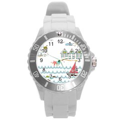 Summer Holiday Plastic Sport Watch (large) by whitemagnolia
