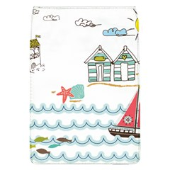 Summer Holiday Removable Flap Cover (large) by whitemagnolia