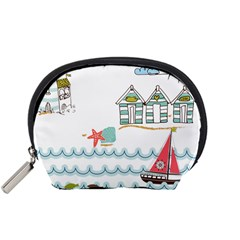 Summer Holiday Accessory Pouch (small) by whitemagnolia