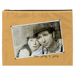 You Jump I Jump Cosmetic Bag (XXXL) by OurInspiration