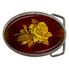 Rose Belt Buckle (oval) by ankasdesigns