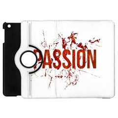 Passion And Lust Grunge Design Apple Ipad Mini Flip 360 Case by dflcprints