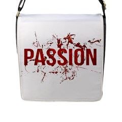 Passion And Lust Grunge Design Flap Closure Messenger Bag (large) by dflcprints