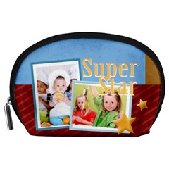 Super Star  By Mac Book   Accessory Pouch (large)   T855pzkjg8of   Www Artscow Com Front