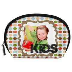 Kids By Mac Book   Accessory Pouch (large)   D1v3l9dcp058   Www Artscow Com Front