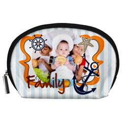 Kids By Mac Book   Accessory Pouch (large)   Pn1d4c3iobbt   Www Artscow Com Front