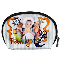 Kids By Mac Book   Accessory Pouch (large)   Pn1d4c3iobbt   Www Artscow Com Back