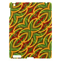 Tropical Colors Abstract Geometric Print Apple Ipad 3/4 Hardshell Case by dflcprints