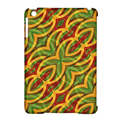 Tropical Colors Abstract Geometric Print Apple Ipad Mini Hardshell Case (compatible With Smart Cover) by dflcprints