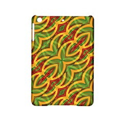 Tropical Colors Abstract Geometric Print Apple Ipad Mini 2 Hardshell Case by dflcprints