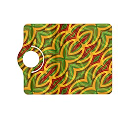 Tropical Colors Abstract Geometric Print Kindle Fire Hd 7  (2nd Gen) Flip 360 Case by dflcprints