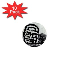 M G Firetested 1  Mini Button Magnet (10 Pack) by holyhiphopglobalshop1