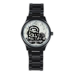 M G Firetested Sport Metal Watch (black) by holyhiphopglobalshop1