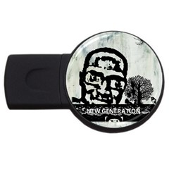 M G Firetested 2gb Usb Flash Drive (round) by holyhiphopglobalshop1