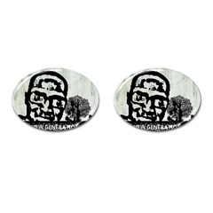 M G Firetested Cufflinks (oval) by holyhiphopglobalshop1