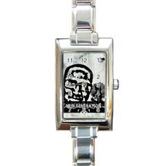 M G Firetested Rectangular Italian Charm Watch by holyhiphopglobalshop1