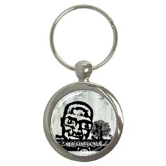 M G Firetested Key Chain (round) by holyhiphopglobalshop1