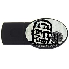 M G Firetested 4gb Usb Flash Drive (oval) by holyhiphopglobalshop1