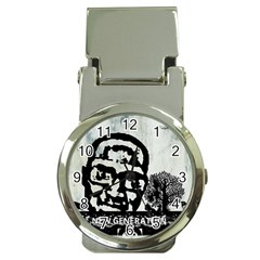 M G Firetested Money Clip With Watch by holyhiphopglobalshop1