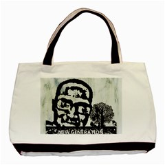 M G Firetested Twin Sided Black Tote Bag by holyhiphopglobalshop1