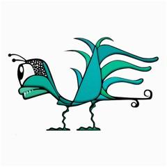 Fantasy Bird Canvas 24  X 36  (unframed) by dflcprints