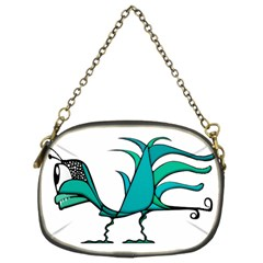 Fantasy Bird Chain Purse (two Sided)  by dflcprints