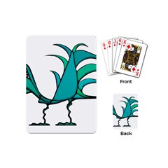 Fantasy Bird Playing Cards (mini) by dflcprints