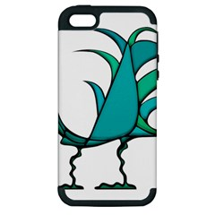 Fantasy Bird Apple Iphone 5 Hardshell Case (pc+silicone) by dflcprints