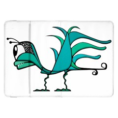Fantasy Bird Samsung Galaxy Tab 8 9  P7300 Flip Case by dflcprints
