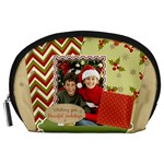 merry christmas - Accessory Pouch (Large)