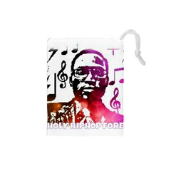 Iamholyhiphopforever 11 Yea Mgclothingstore2 Jpg Drawstring Pouch (small) by christianhiphopWarclothe