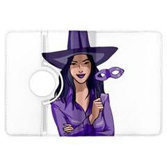 Purple Witch Kindle Fire Hdx 7  Flip 360 Case by FunWithFibro