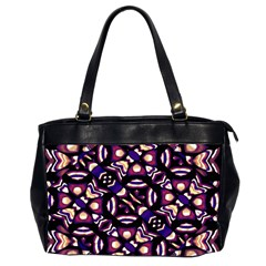 Colorful Tribal Pattern Print Oversize Office Handbag (two Sides) by dflcprints