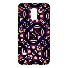Colorful Tribal Pattern Print Samsung Galaxy S5 Mini Hardshell Case  by dflcprints