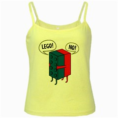 Lego Yellow Spaghetti Tank by NEWSHIRTS