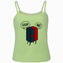 Lego Green Spaghetti Tank by NEWSHIRTS