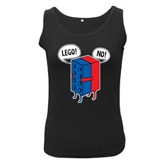 Lego Women s Black Tank Top by NEWSHIRTS