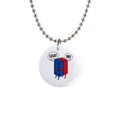 Lego 1  Button Necklace by NEWSHIRTS