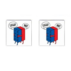 Lego Cufflinks (Square) by NEWSHIRTS
