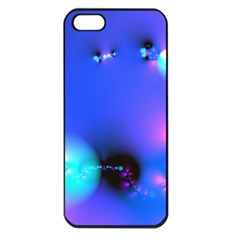 Love In Action, Pink, Purple, Blue Heartbeat 10000x7500 Apple Iphone 5 Seamless Case (black) by DianeClancy