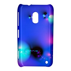 Love In Action, Pink, Purple, Blue Heartbeat 10000x7500 Nokia Lumia 620 Hardshell Case by DianeClancy